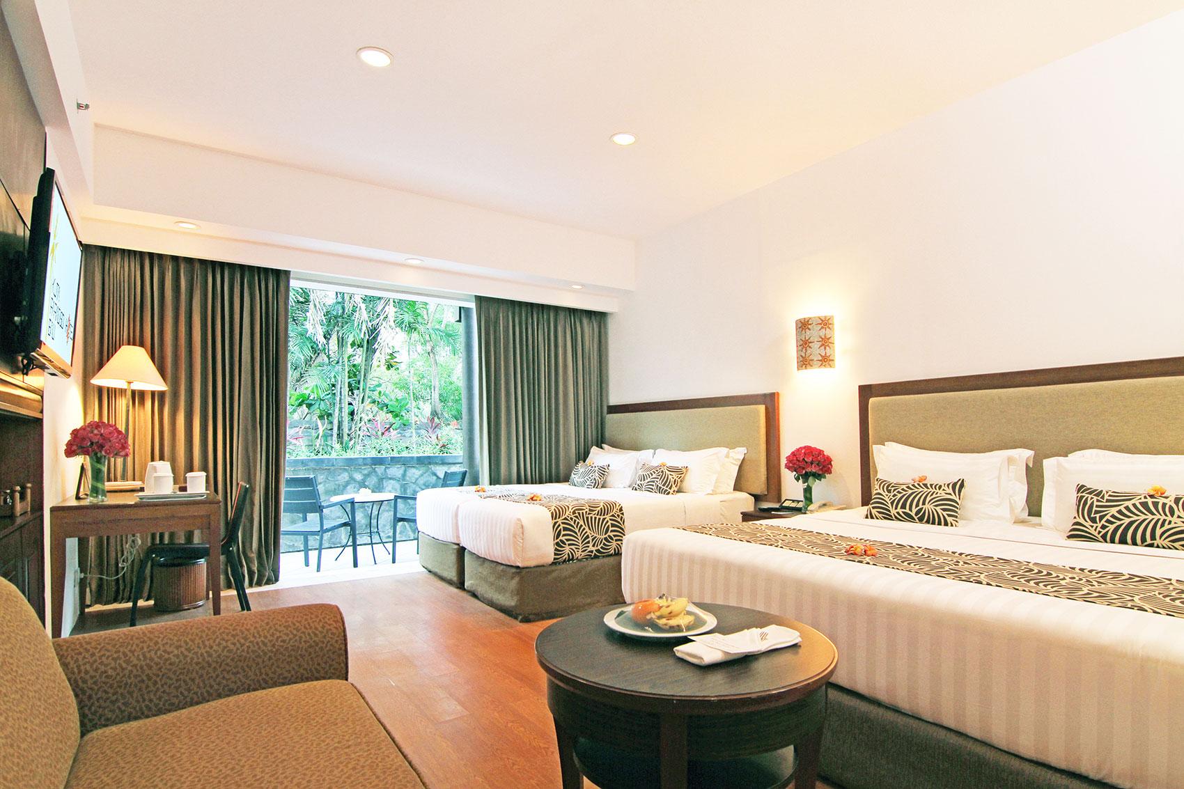 Family Room Kuta Paradiso Hotel