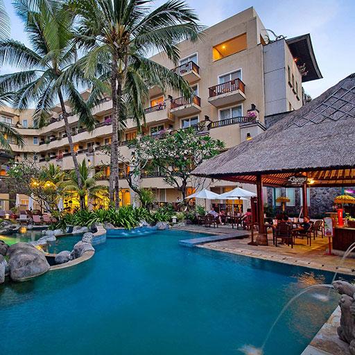Hotel Kuta Paradiso In Kuta Bali Kuta Paradiso Hotel The